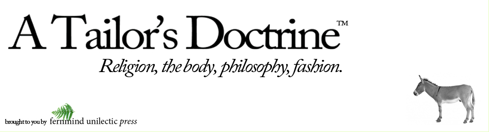 A Tailor's Doctrine